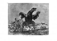 Плотоядный стервятник. Бедствия войны - Гойя, Франсиско Хосе де