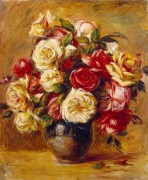 Букет роз, 1909-13 - Ренуар, Пьер Огюст