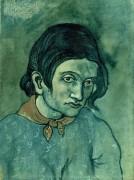 Портрет молодой женщины - Пикассо, Пабло