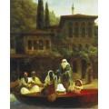 Кофейня у мечети Ортакёй, Константинополь - Айвазовский, Иван Константинович