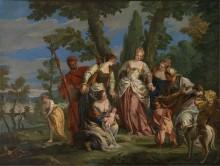 Нахождение Моисея - Тьеполо, Джованни Баттиста