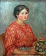 Продавщица фруктов - Ренуар, Пьер Огюст