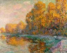 Осенний пейзаж - Луазо, Гюстав