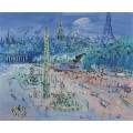 Площадь Согласия, Париж - Дюфи, Жан