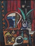 Натюрморт с туалетным столиком - Бекман, Макс