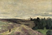 Холмы с вереском близ Вимутье - Коро, Жан-Батист Камиль