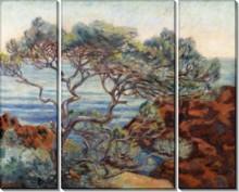 Красные скалы в Агай, 1898 - Гийомен, Арманд