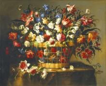 Корзина цветов, 1670 - Арельяно, Хуан де