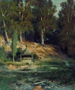 Часовня в лесу, 1893 - Шишкин, Иван Иванович