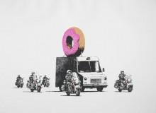 Клубничные пончики - Бэнкси