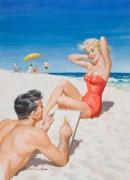 На пляже - Сарноф, Артур