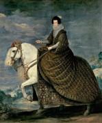 Конный портрет королевы Изабеллы Бурбонской - Веласкес, Диего