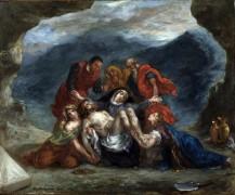 Оплакивание Христа - Делакруа, Эжен