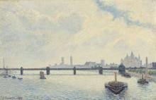 Мост Чаринг-Кросс, Лондон - Писсарро, Камиль