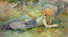 Отдыхающая пастушка - Моризо, Берта
