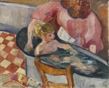 Мадам Вальта, купающая сына Жана - Вальта, Луи