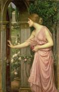 Психея, входящая в сад Купидона - Уотерхаус, Джон Уильям