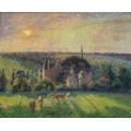 Пейзаж в Эрани, 1897 - Писсарро, Камиль