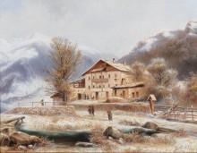 Придорожная таверна близ Качбергского перевала - Нельмайер, Людвиг