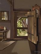 Дверь в мастерскую - Лемпицка, Тамара