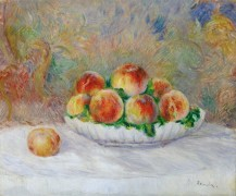 Ваза с персиками - Ренуар, Пьер Огюст