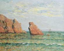 Уединенная скала в Морга, 1900 - Мофра, Максим