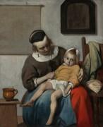 Больной ребенок - Метсю, Габриель