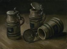 Пивные кружки (Beer Tankards), 1885 - Гог, Винсент ван