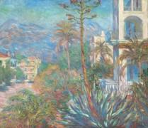 Вилла в Бордигере, 1884 - Моне, Клод