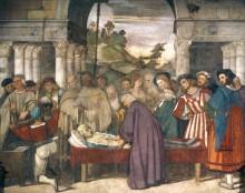 Сцены из жизни святого Антония Падуанского - Нахождение сердца скряги - Тициан Вечеллио