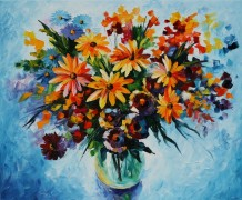 Букет полевых цветов - Афремов, Леонид