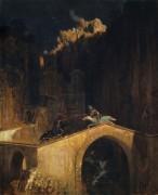Сражение на мосту - Бёклин, Арнольд
