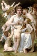 Нападение. (Ангелы) - Бугро, Адольф Вильям