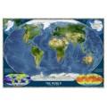 Национальная, географическая карта мира