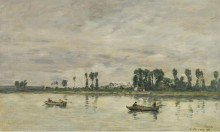Кодбек-ан-Ко, берега Сены, 1892 - Буден, Эжен