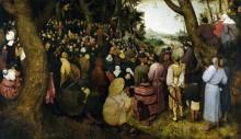 Проповедь Иоанна Крестителя - Брейгель, Питер (Старший)