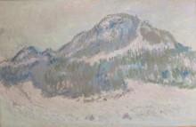 Гора Колсос в Норвегии - Моне, Клод
