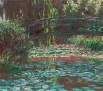 Японский мостик через пруд с кувшинками - Моне, Клод