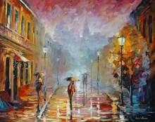 Ноябрьский дождь - Афремов, Леонид (20 век)
