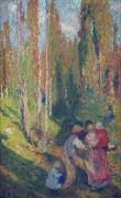 Прогулка в лесу - Мартен, Анри Жан Гийом