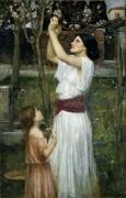 Сбор цветков миндаля - Уотерхаус, Джон Уильям