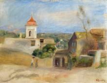 Пейзаж в Кань-Сюр-Мер, 1899 - Ренуар, Пьер Огюст