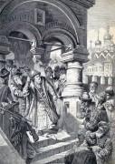 Иван ІІІ Васильевич и татарские послы - Маковский, Константин Егорович