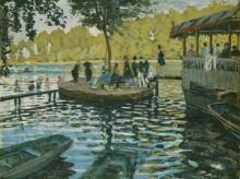 Лягушатник, 1869 - Моне, Клод