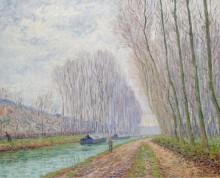 Канал Море, зимний эффект, 1904 - Пикабиа, Франсис