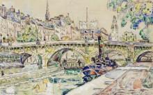 Новый мост, Париж - Синьяк, Поль