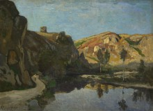 Река и холмы - Арпиньи, Анри Жозеф