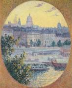 Набережная Монтебелло и Холм святой Женевьевы, Париж, 1901 - Люс, Максимильен