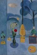 Голубое окно - Матисс, Анри