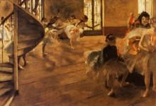 Репетиция танца, 1877 - Дега, Эдгар